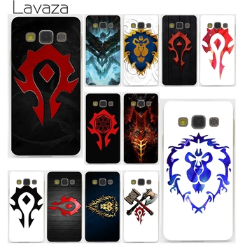 Lavaza World of warcraft wow logo Hard Case samsung Galaxy S3 S4 S5 & Mini S6 S7 Kenar S6 S8 Kenar artı