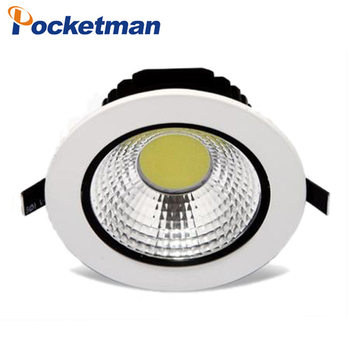 12 W 9 W 7 W 5 W Led Downlight Empotrable Foco Led Tavan lamba Faretto Incasso Lampara Techo Plafoniera Gömme Led Lamba 220 V 110 V