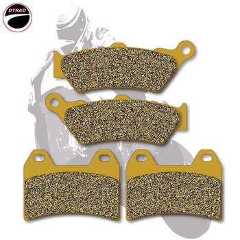 Motorcycle Brake Pads Front+Rear For VICTORY V92C 98-03 Ness Signature Series 05-07 King Pin / King Pin Tour 04-07